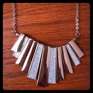 Simple silver necklace!